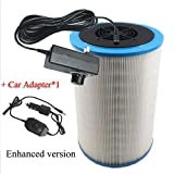 WQY Selbst Gemachter DIY Luftfilter HEPA Filter PM2.5 Rauchstaub Formaldehyd TVOC Home Car...