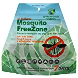 Greenerways Organic Mosquito Free-Zone Refill Pack - All Natural
