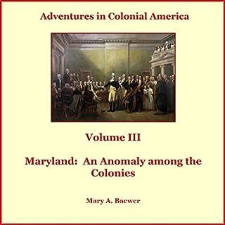 Adventures in Colonial America audiobook cover art