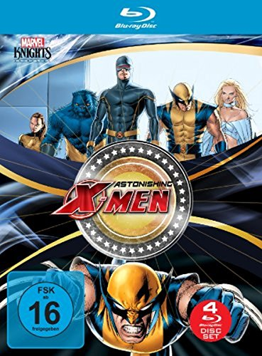 Astonishing X-Men Box (OmU) [Blu-ray]