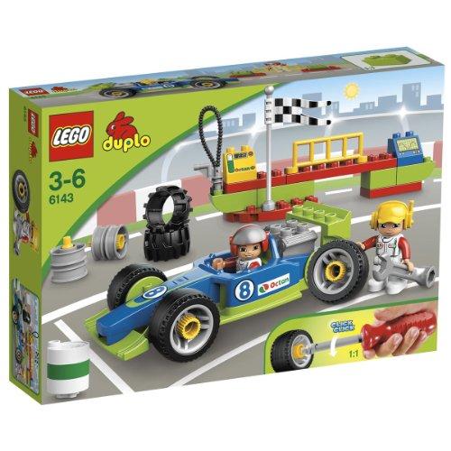 LEGO Duplo 6143 Rennfahrzeug 34 Teile ab 3 Jahren