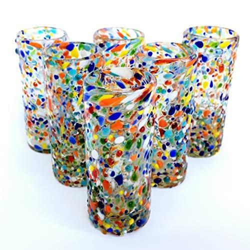 Design Multicolor Recycled Glassware