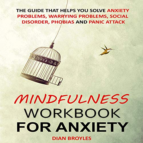 Mindfulness Workbook for Anxiety cover art