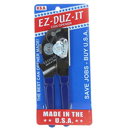 EZ-DUZ-IT Can Opener, (Blue)