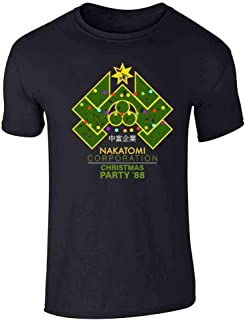 Yippee Ki Yay Now I Have a Machine Gun Nakatomi Graphic Tee T-Shirt for Men