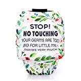 Acrabros Baby-Car-Seat-Covers with No Touching Baby Car Seat Sign for Boys Girls,Multifunctional Infant Car Seat Canopy...
