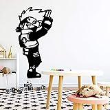 sanzangtang Anime Pegatinas de Pared Accesorios de decoración del hogar habitación Infantil decoración Natural Art Deco Wallpaper 42x79cm