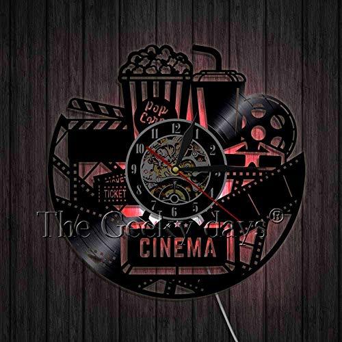 LTOOD Anakin Skywalker Padme Amidala Star Wars Disco de Vinilo Reloj Decoración...
