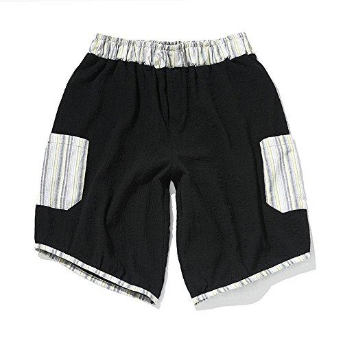 Zyangg-Home Zwembroek voor heren, los en comfortabel katoen, zomersportbroek, coole strandbroek, casual shorts, sneldrogende shorts