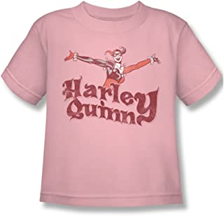 Dc Comics Little Boys Harley Hop Vintage T-Shirt in Pink