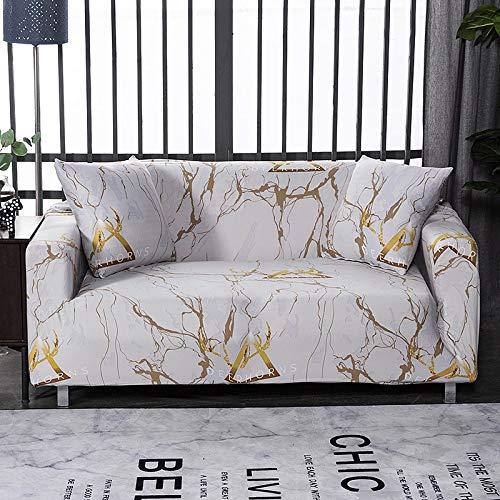 WXQY Sala de Estar geométrica Todo Incluido Funda de sofá Moderna sección elástica Funda de sofá de Esquina Funda de sofá A17 1 Plaza