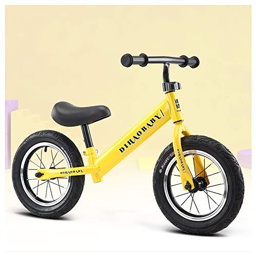 KXDLR Kids Balance Bike voor Jongens & Meisjes 2-6 Jaar Oud, Geen Pedaal Traning Kinderen Fietsen met Verstelbare Stuur En Zit, Peuter Wandelen Bike