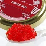 Capelin Red Sushi Caviar - 8 ounce
