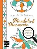 Ausmalen für Senioren – Mandala & Ornamente