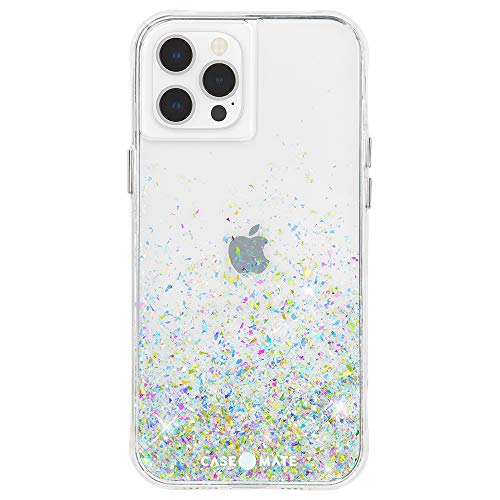 Case-Mate - Twinkle Ombre - Case for iPhone 12 Pro Max (5G) - 10 ft Drop Protection - 6.7 Inch -Confetti