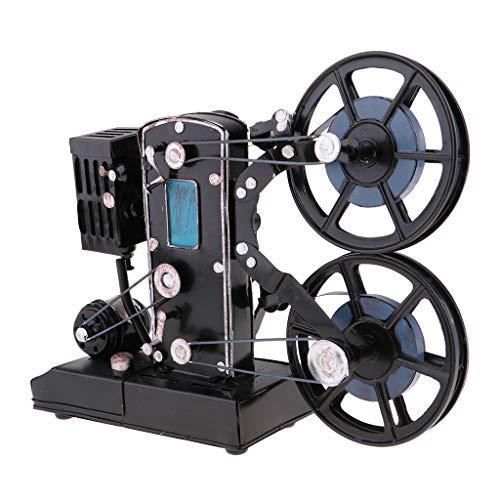 sharprepublic Retro Vintage Modelo De Proyector De Cine para La Decoración del Hogar Pantalla Y Accesorios De Películas