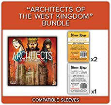 Architects of The West Kingdom Compatible Sleeve Bundle (8807 X 2 + 8803 X 1)