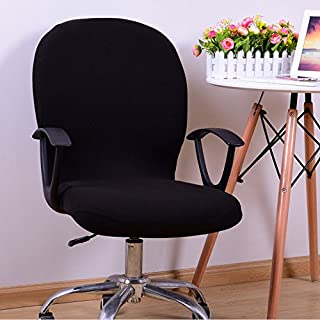 Lfhing Funda de silla giratoria extensible extraíble para ordenador de oficina lavable
