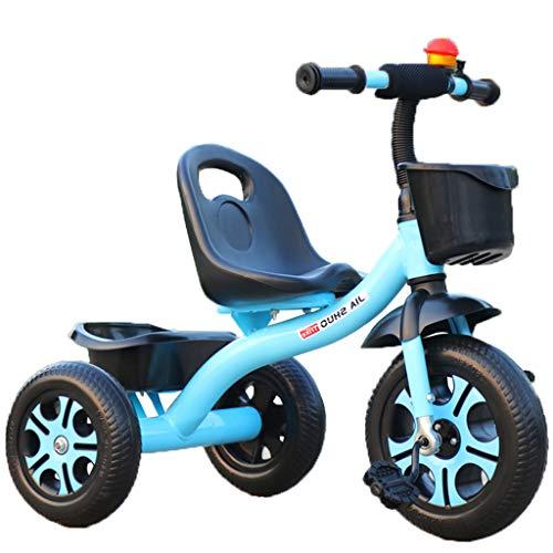 Kinder-Dreirad, Jungen- Und Mädchenfahrrad, 1-2-3-5-6 Jahre Alter Kinderwagen, Kinderwagen, Moped, Dreirad, Fahrräder