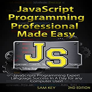 JavaScript Professional Programming Made Easy, 2nd Edition audiobook cover art