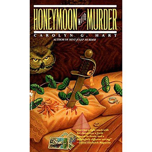 Honeymoon with Murder audiobook cover art