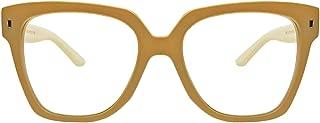 Retro Nerd Geek Oversized Eye Glasses Horn Rim Framed Clear Lens Spectacles