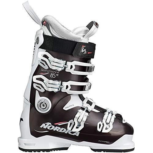 Nordica Sportmachine 85 W Damen-Skistiefel 050R3401-5P5 Black Pearl/White/Rose Gr. 25