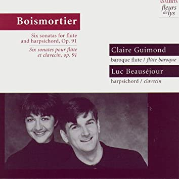 Boismortier: Six Sonatas for Flute and Harpsichord, Op.91