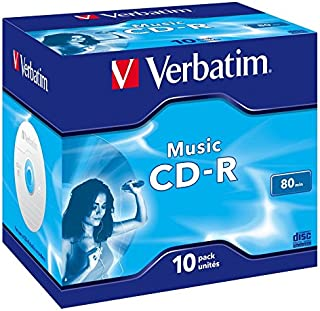 Verbatim Cdr Audio Live It Colours 80 min. pack