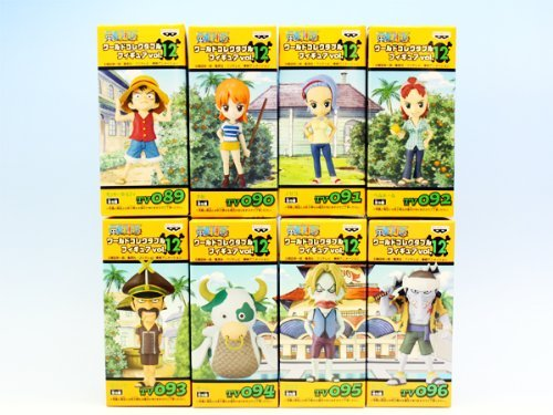 ONE PIECE One Piece World Collectable Figure vol.12 set all eight species (japan import)