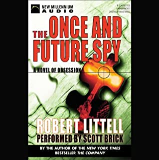 The Once and Future Spy audiobook cover art