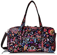 MACHINE WASHABLE SIGNATURE COTTON -- The fabric you know & love, our quilted cotton is lightweight yet durable, & comes in a variety of colorful patterns MAKE YOUR TRAVELS A BREEZE -- With a 15 inch strap drop & an additional 53 inch removable, adjus...