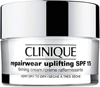 Clinique Repair Wear Uplifting SPF 15 Firming Cream Very Dry to Dry Skin for Unisex, 1.7 Ounce