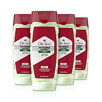 Old Spice Hydro Body Wash Hardest Working Collection Live Wire 16.0 oz  Pack Of 4