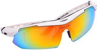 BYCSD サングラス サイクリングサングラス - 太陽屋外偏光 - 近視眼鏡フレーム付き (色 : E)