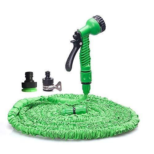 Uitbreidbare tuinslang, flexibele tuinslang Uitbreidende slangpijpen Latex binnenband Geen knik Flexibele uitzetbare irrigatieslang,100FT 30m