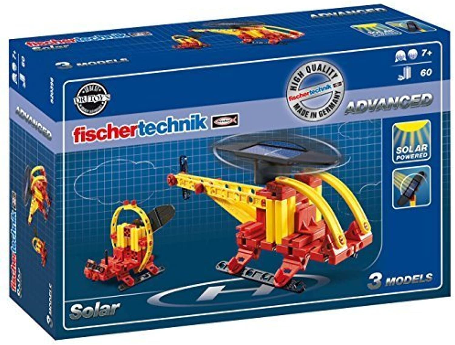 Fischertechnik Basic Solar Kit, 60-Piece by