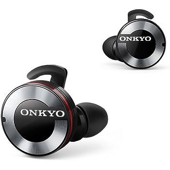 ONKYO W800BT Bluetoothイヤホン 密閉型/フルワイヤレス ブラック W800BTB