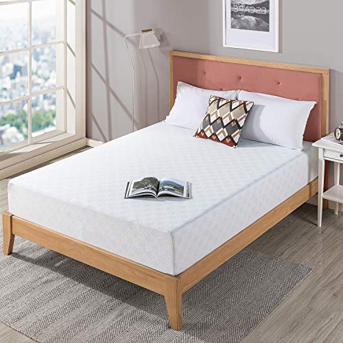 Zinus 25.4CM Gel-Infused Green Tea Memory Foam Mattress, Fabric, 180 x 200 cm