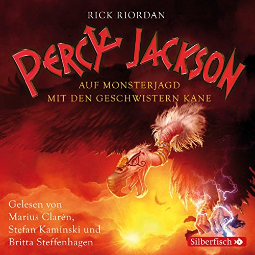 Auf Monsterjagd mit den Geschwistern Kane (Percy Jackson und die Geschwister Kane 1) Titelbild