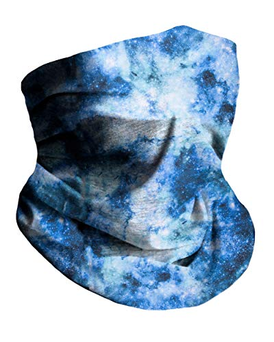 Into the Am Nebula Skies Multi-Functional Face Cover Seamless Bandana Mask