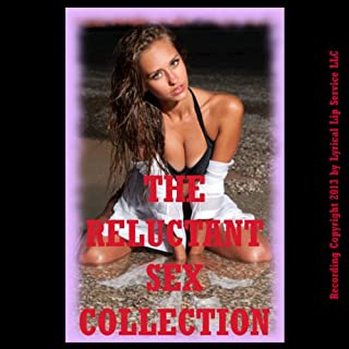 The Reluctant Sex Collection, Twenty Erotica Stories                   By:                                                                                                                                 Stacy Reinhardt,                                                                                        Veronica Halstead,                                                                                        Kate Youngblood,                   and others                          Narrated by:                                                                                                                                 Jennifer Saucedo                      Length: 6 hrs and 7 mins     47 ratings     Overall 3.2
