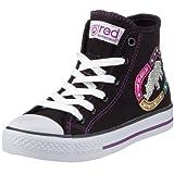 Marc Ecko Footwear - Zapatos de lona para bebé, color negro, talla 33
