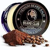 Bálsamo Barba Premium | Roasted Coffee Beans | Los Mejores Barba de Loción Suavizante| Naturales y Orgánicos | Excelente Para el Cuidado del Cabello y el Crecimiento