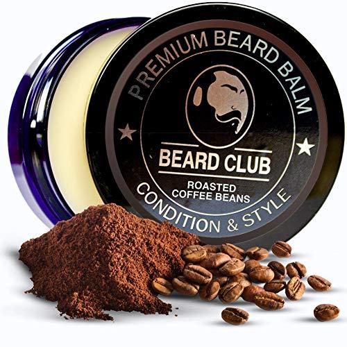 Premium Qualitäts Balsam für den Bart | Roasted Coffee Beans | Natürlich Bartbalsam | Der beste Bart Conditioner & Weichmacher, um Ihren Bart zu stylen, während Sie Bart Juckreiz & Flakes stoppen