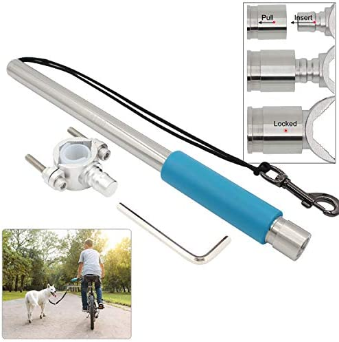 Dog Bike Leash Attachment Quick Release Hands Free Leash Bicycle Dog Exerciser Impact Absorbing product image