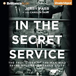 In the Secret Service audiobook cover art