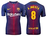 Trikot Herren FC Barcelona 2017-2018 Home - Iniesta 8