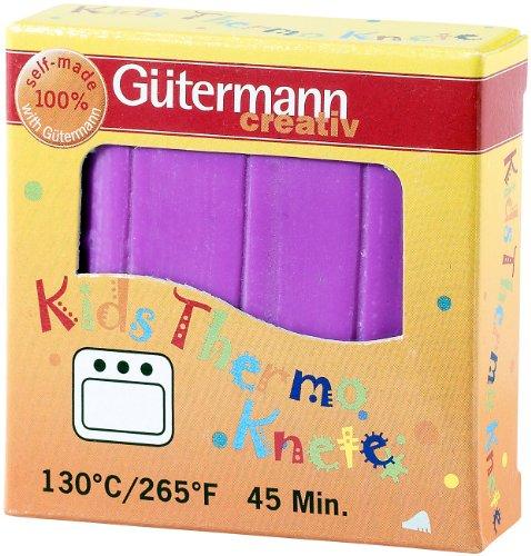 Gütermann - Kids Thermo Knete - violett 58 g