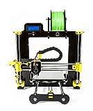 Impresora 3D Leon3D LEGIO Calidad Profesional Color Negro / Amarillo Compatible Filamento 1.75 Cama Caliente de Aluminio Nozzle Leonozzle